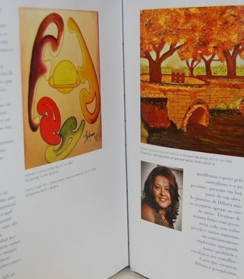 My arts registered in an book!